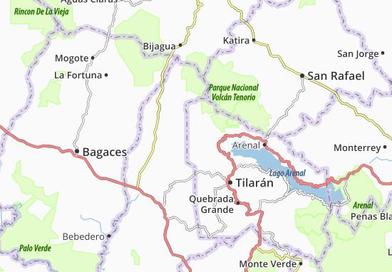 Kaart Plattegrond Bajo Paires