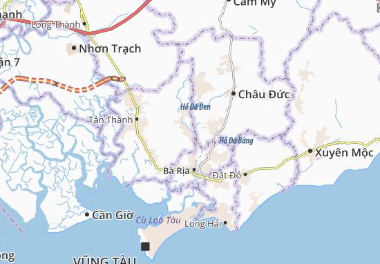Carte-Plan Châu Pha