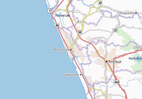 Kaart Plattegrond Manattala