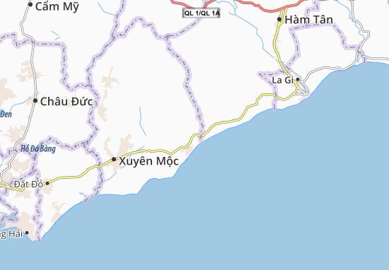 Carte-Plan Bình Châu