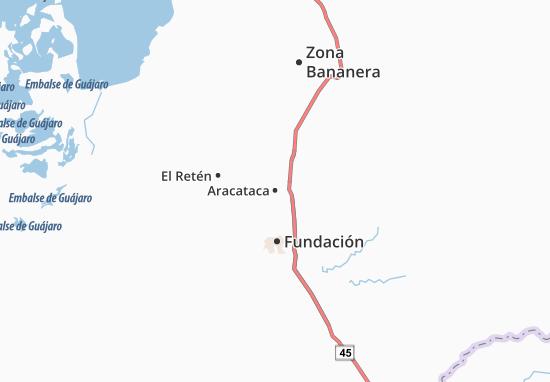 Carte-Plan Aracataca