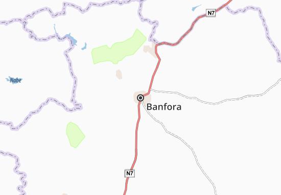 Banfora Map