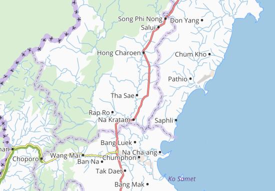 Mappe-Piantine Tha Sae