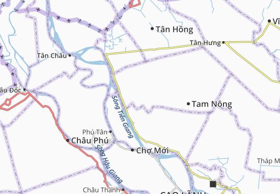 Carte-Plan Phú Thành A
