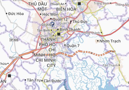 Quận 7 Map