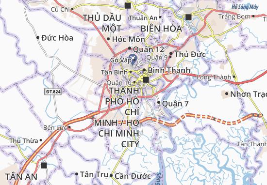 Carte-Plan Quận 8