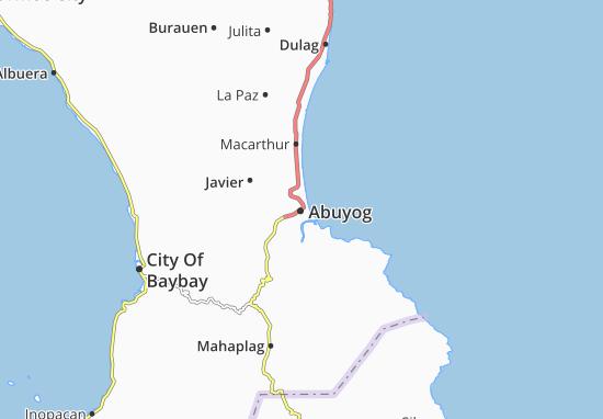 Carte-Plan Abuyog