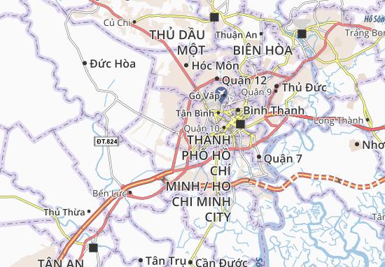 Bình Trị Đông B Map