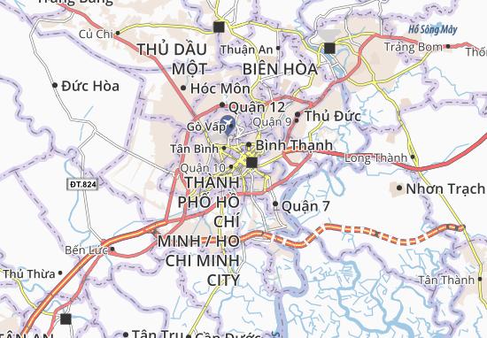 Carte-Plan Nguyễn Cư Trinh