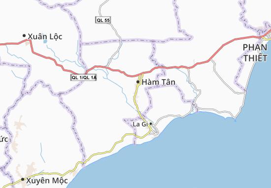 Carte-Plan Tân Hà