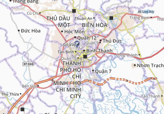 Carte-Plan Quận 3