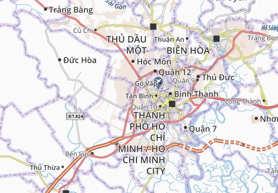 Mapa Plano Bình Hưng Hòa A