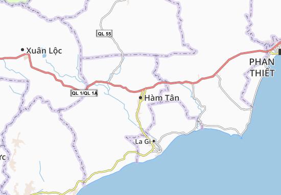 Hàm Tân Map