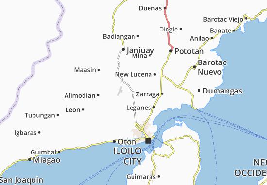 Mappe-Piantine Santa Barbara