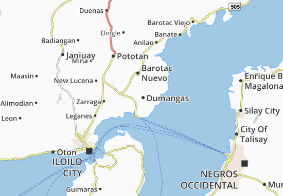 Mappe-Piantine Dumangas