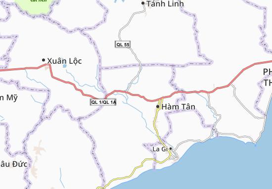 Tân Phúc Map
