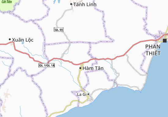 Sông Phan Map
