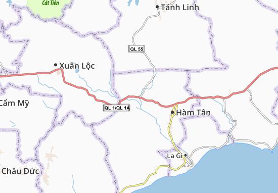 Kaart Plattegrond Tân Minh