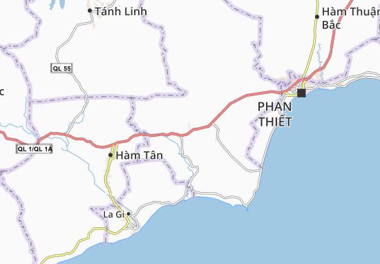 Carte-Plan Hàm Thuận Nam