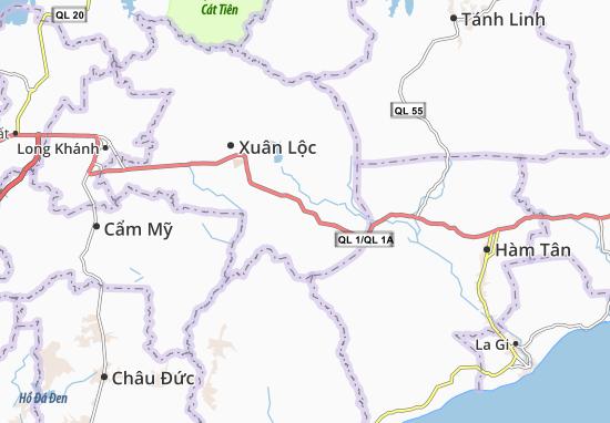 Xuân Hưng Map