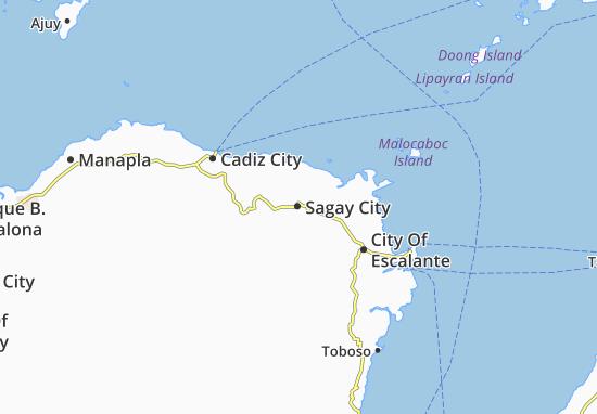 Mappe-Piantine Sagay City