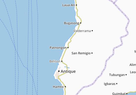Carte-Plan Patnongon