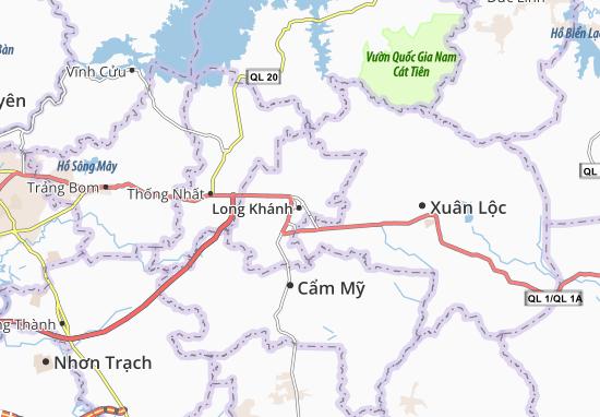 Long Khánh Map