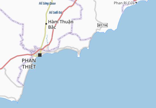 Mũi Né Map