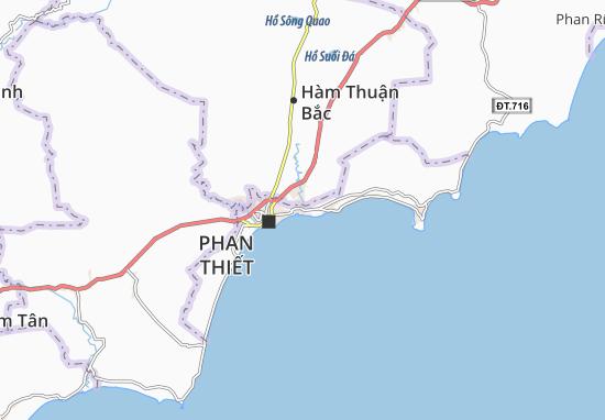Mapas-Planos Phú Hài