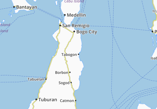 Mappe-Piantine Tabogon