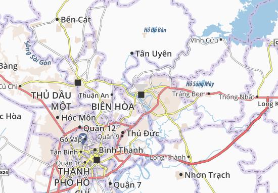 Biên Hòa Map