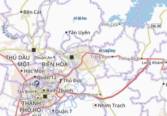 Long Bình Map