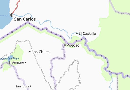 Pocosol Map