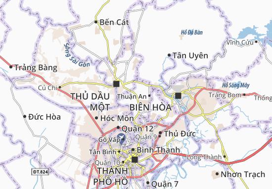 Carte-Plan Thuận Giao