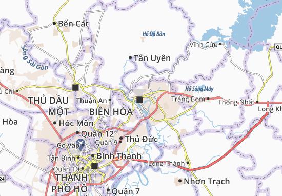Carte-Plan Trung Dũng