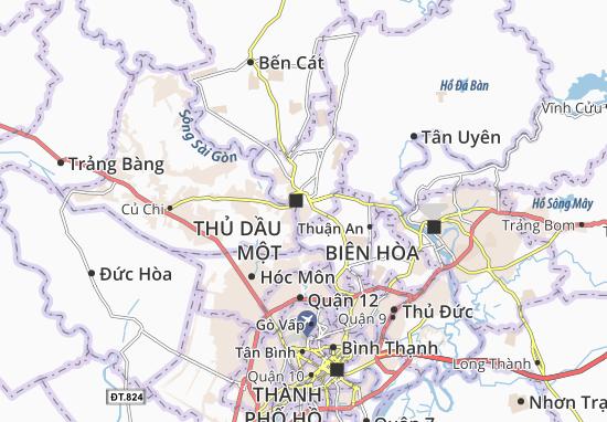 Chánh Nghĩa Map