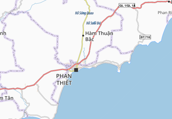 Carte-Plan Phú Long