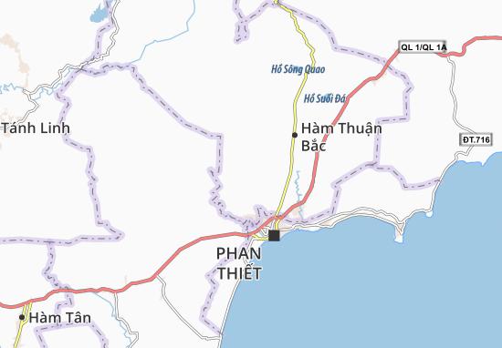 Hàm Liêm Map
