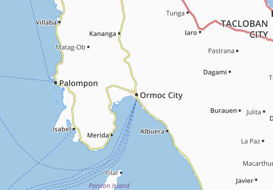 Mappe-Piantine Ormoc City