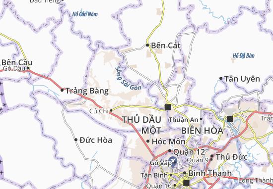Carte-Plan Phú Hòa Đông