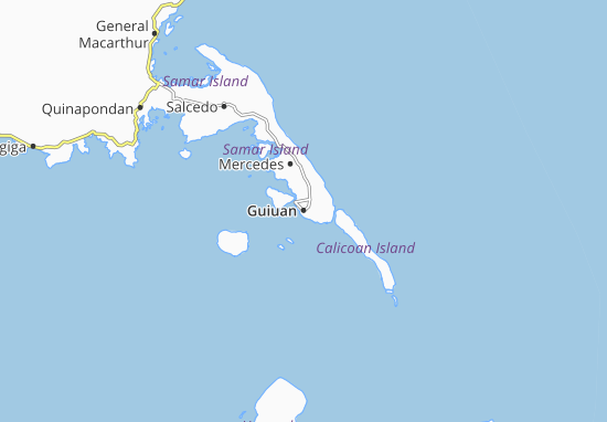 Carte-Plan Guiuan