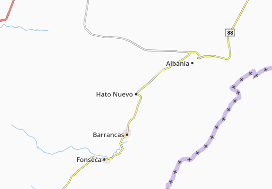 Hato Nuevo Map