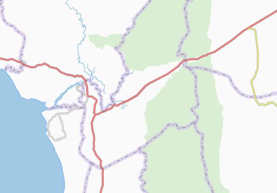 Carte-Plan Phumi Cham Srei