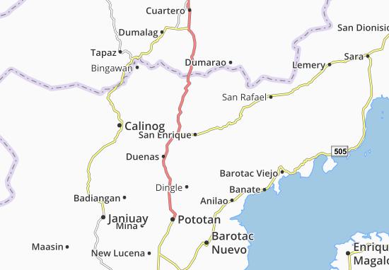 Mappe-Piantine San Enrique