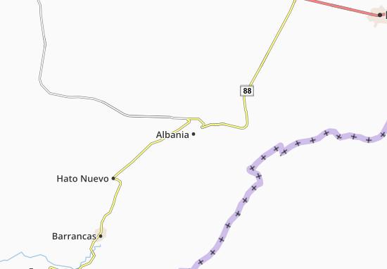 Carte-Plan Albania
