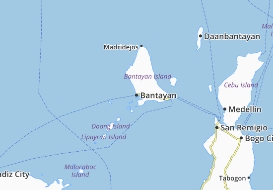 Mappe-Piantine Bantayan