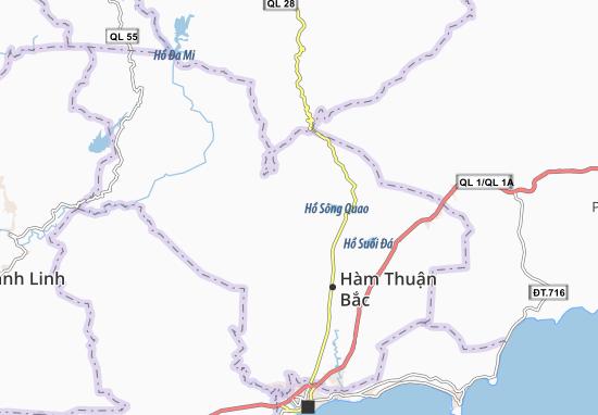 Hàm Phú Map
