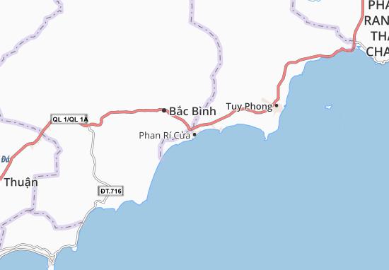Carte-Plan Phan Rí Cửa