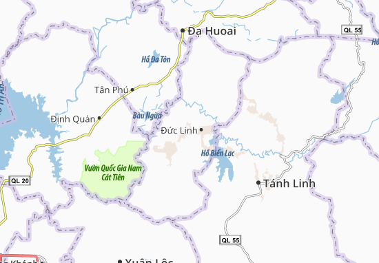 Carte-Plan Nam Chính