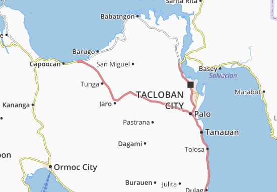 Kaart Plattegrond Alangalang